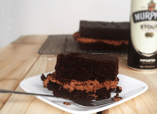 Chocolate Stout Cake & Chocolate Peanut Butter Frosting - Cookie Dough ...