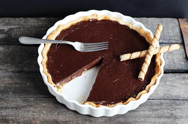 Chocolate Caramel Tart - Daring Bakers' Challenge