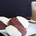 Chocolate Half Moon Cookies