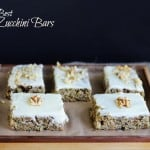 The Best Zucchini Bars