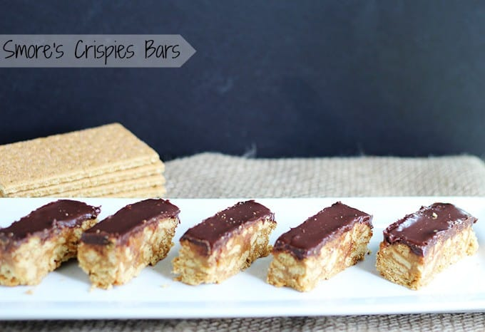 S'mores Crispies Bars