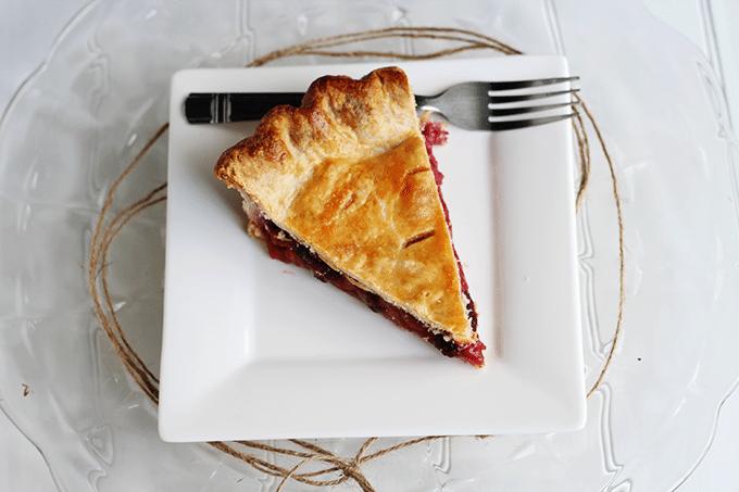 Raspberry Pie - Cookie Dough and Oven Mitt