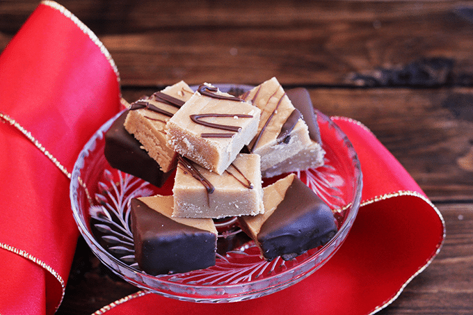 Peanut Butter Fudge | Cookie Dough and Oven Mitt