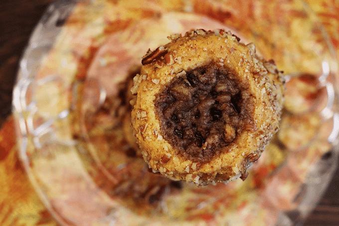 Pecan Sweet Potato Thumbprints