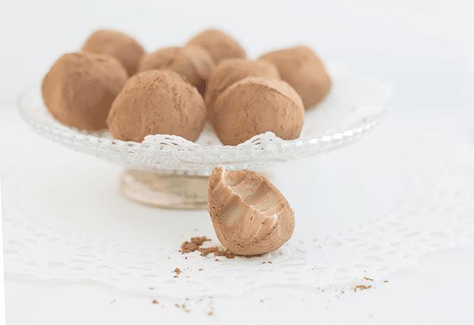 Bailey's Coffee Truffles