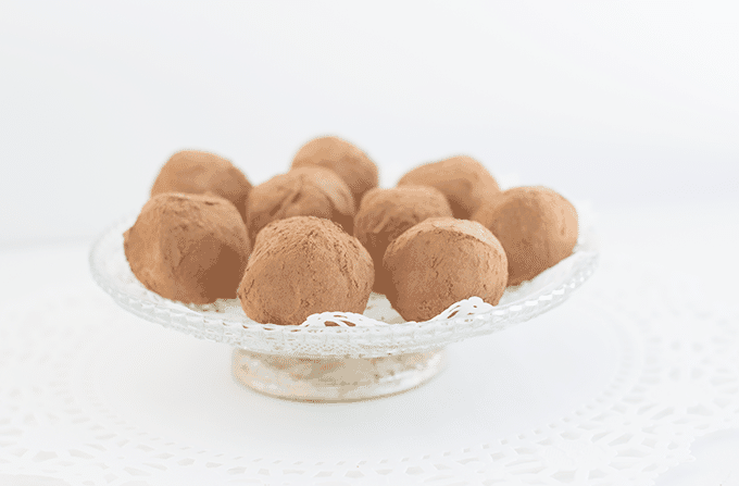 Bailey's Coffee Truffles