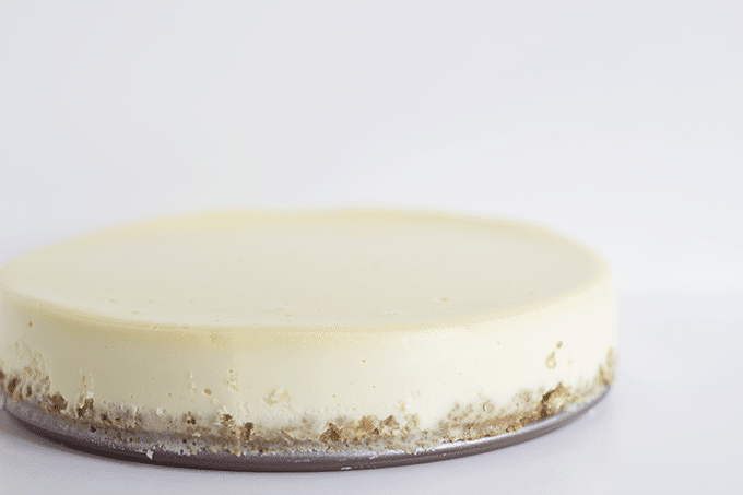 new york style cheesecake cookie dough and oven mitt