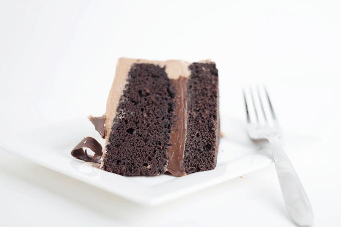Triple Chocolate Decadent Cake
