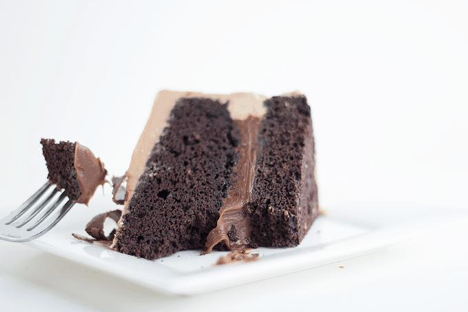 Triple Chococlate Decadent Cake