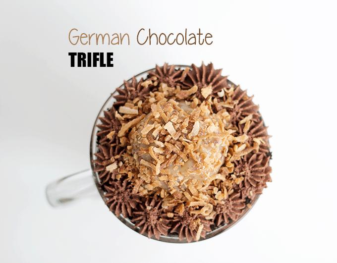 German Chocolate Trifle