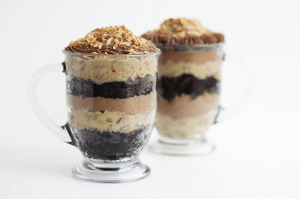 German Chocolate Trifle #trifle