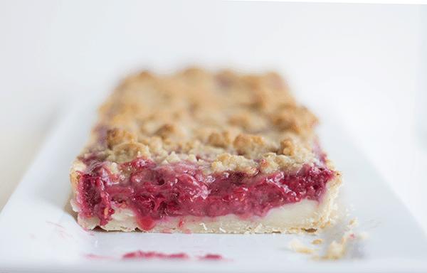 Raspberry Brie Tart