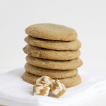 Caramel Filled Brown Sugar Cookies #recipe #cookies