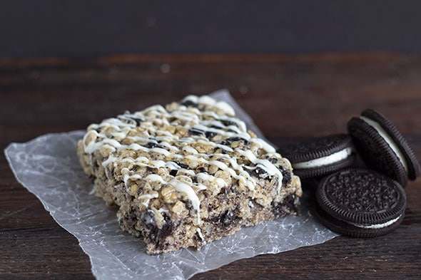 Cookies & Cream Rice Crispy Treats