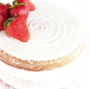 Fresh Strawberry Cake