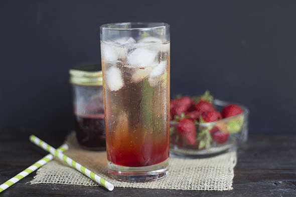Strawberry Syrup for Drinks