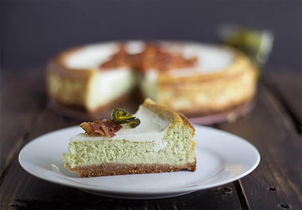 Jalapeno Popper Cheesecake