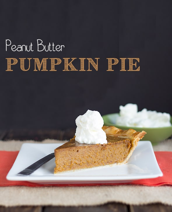 Peanut Butter Pumpkin Pie #peanutbutterbash