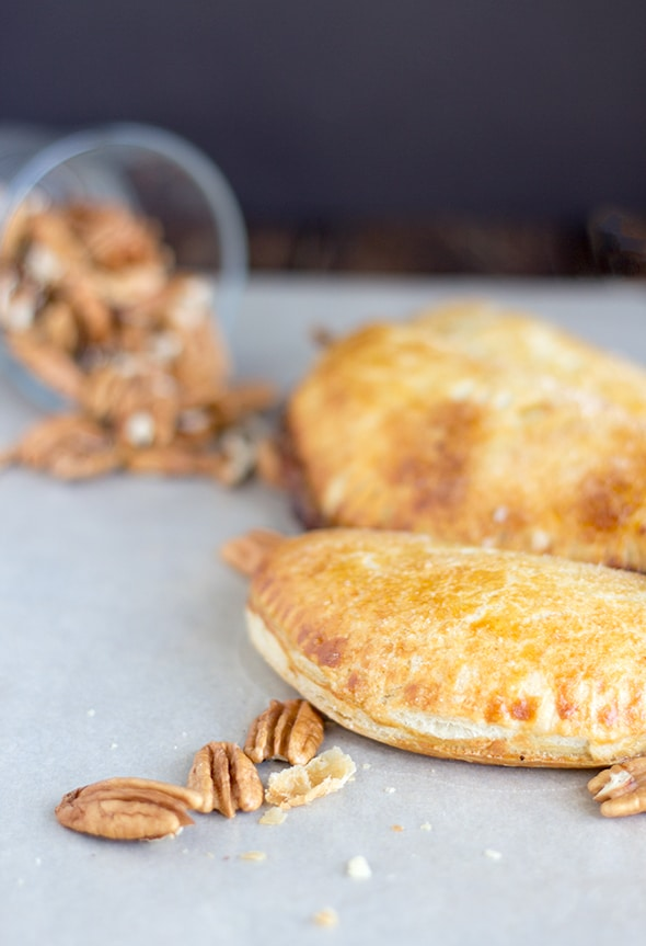 Pecan and Brie Hand Pies