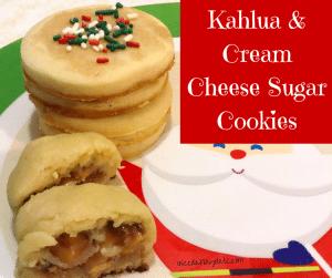 Kahlua Cream Cheese Sugar Cookie