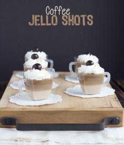 Coffee Jello Shots