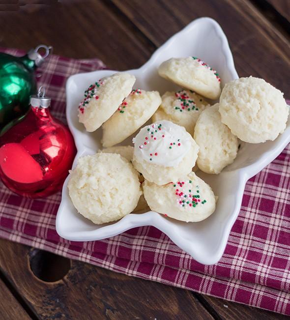 Holiday Drop Sugar Cookies