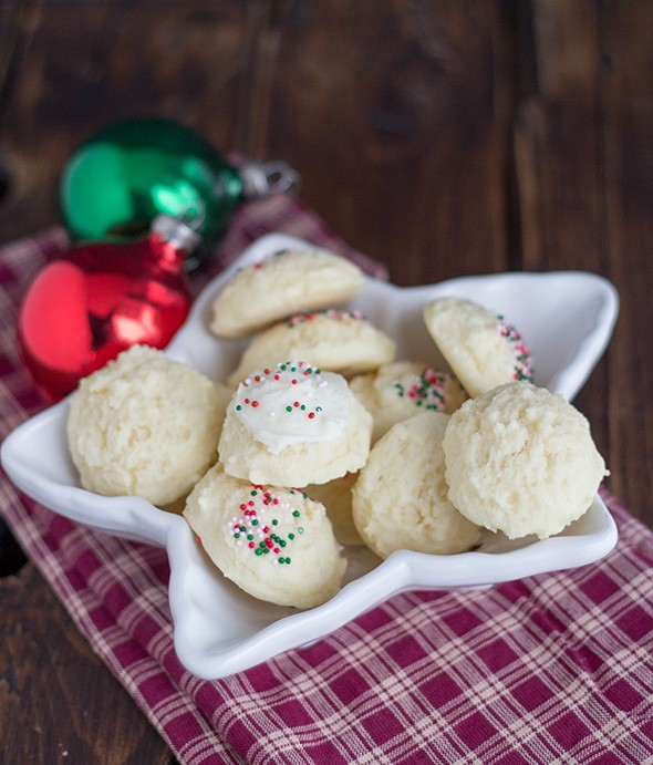 Holiday Drop Sugar Cookies