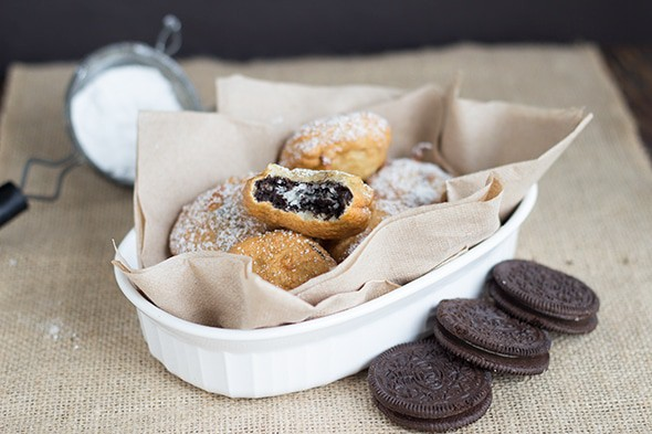 Fried Oreos, Book Review, and Giveaway