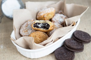 Fried Oreos, book review, and giveaway!