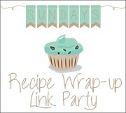 Sunday's Recipe Wrap-up Link Party Button