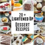 Lightened Up Dessert Recipes