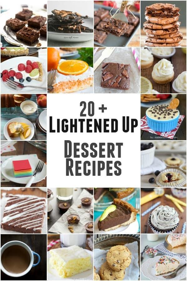 Lightened Up Dessert Recipes
