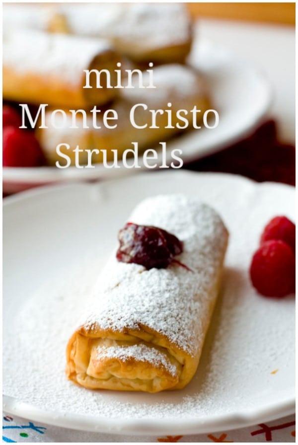 Mini Monte Cristo Strudels