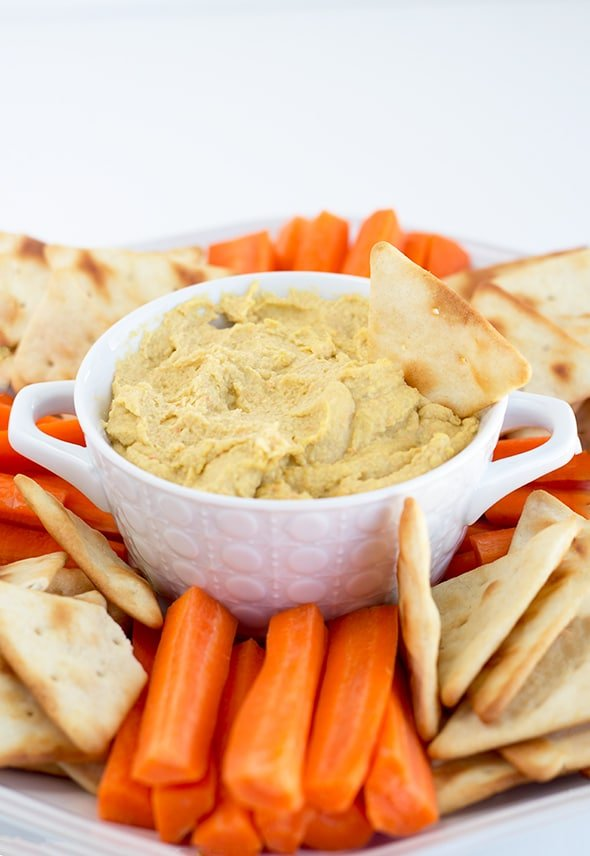 Pickled Vegetable Hummus