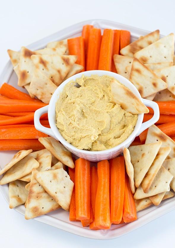Pickled Vegetable Hummus