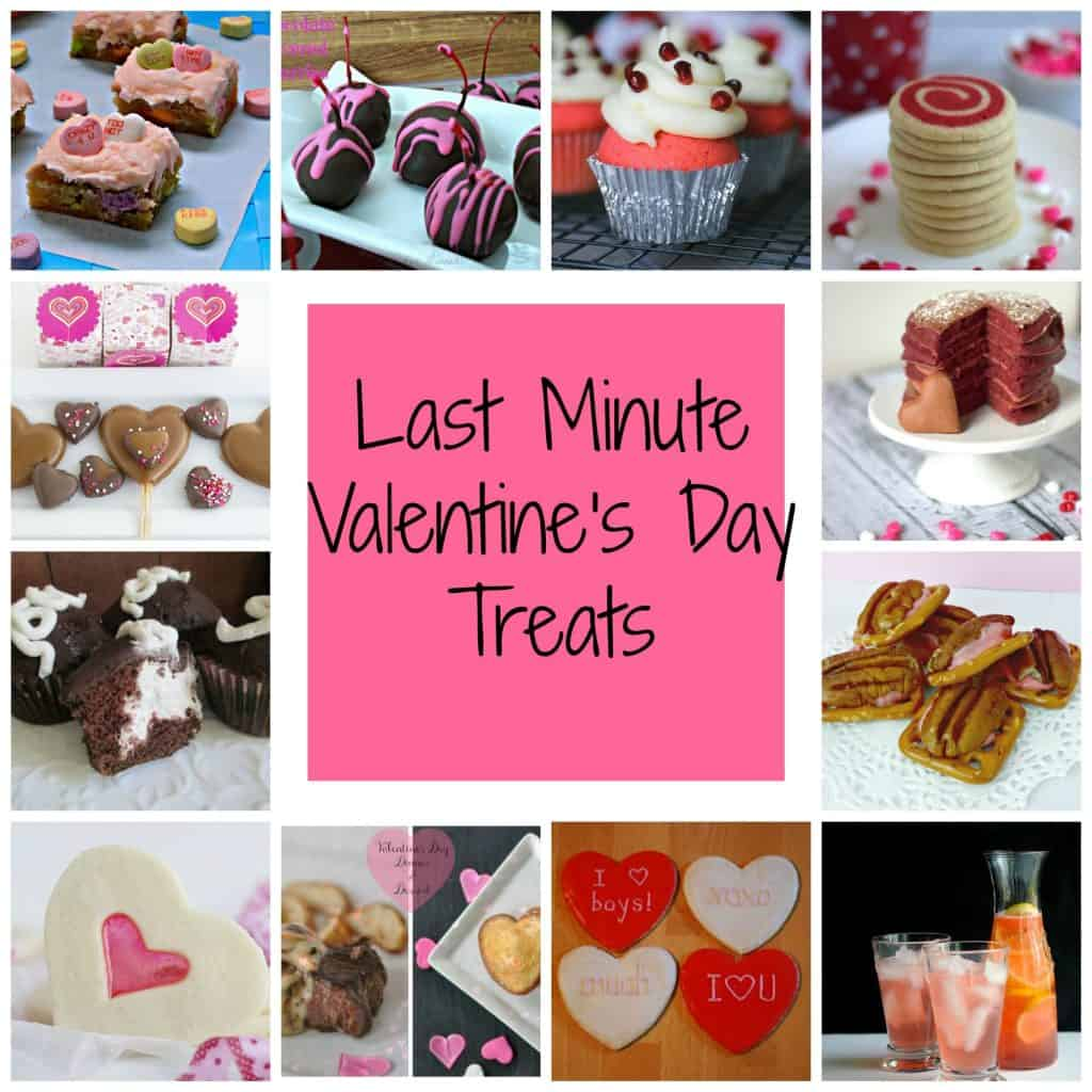Last Minute Valentine's Day Treats