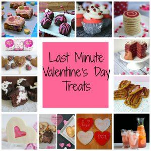 Last Minute Valentine's Treats