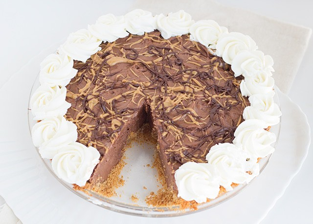 Dark Chocolate Peanut Butter Pie
