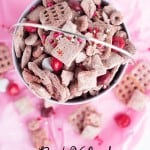 Red Velvet Puppy Chow
