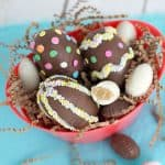 Cookie Dough Surprise Easter Eggs