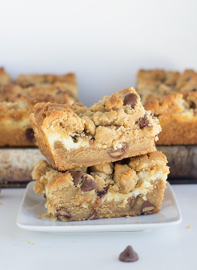 Chocolate-Cream Cheese-Peanut Butter Bars Recipe — Dishmaps