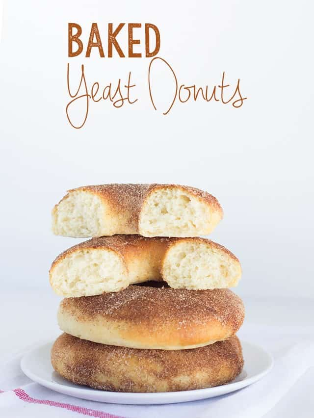 Baked Yeast Donuts