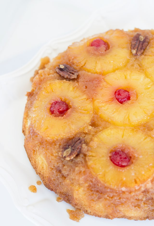 Pineapple Upside Down cake made from scratch