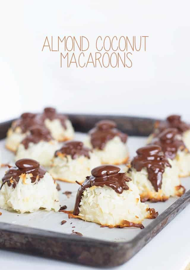 Almond Coconut Macaroons
