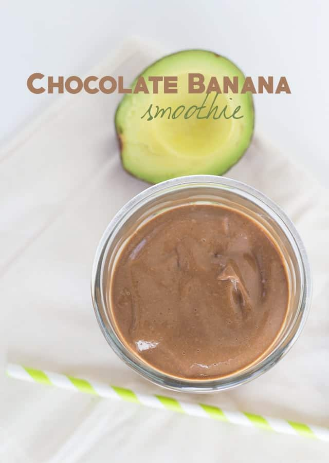 Chocolate Banana Smoothie