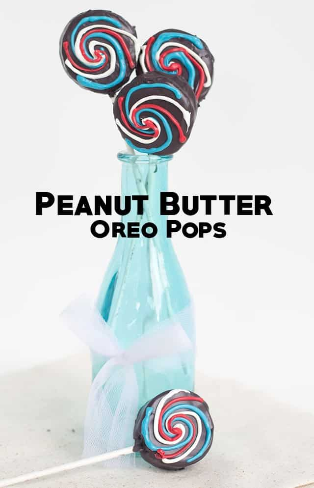 Peanut Butter Oreo Pops