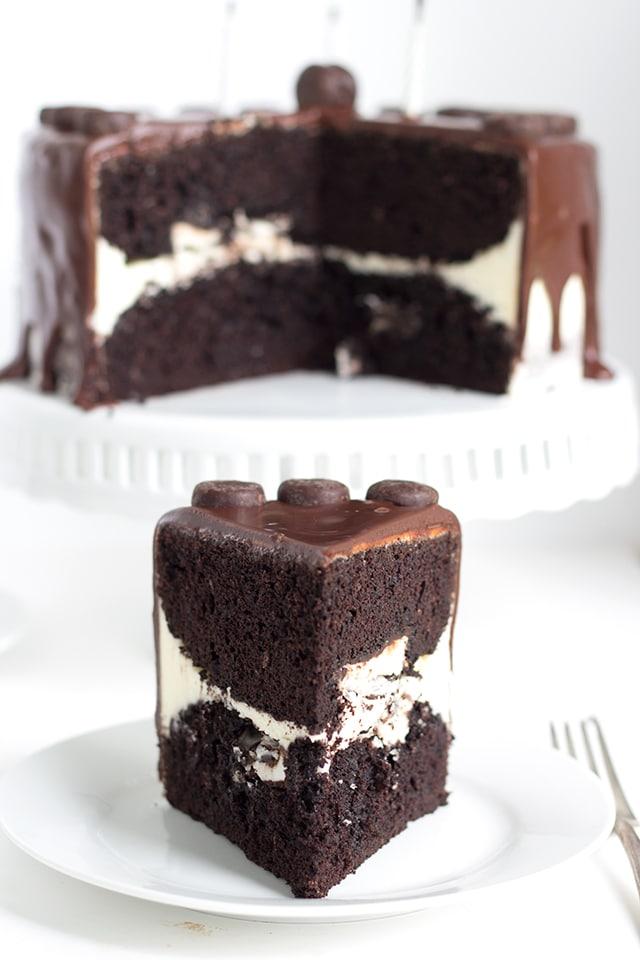 Peppermint Patty Birthday Cake