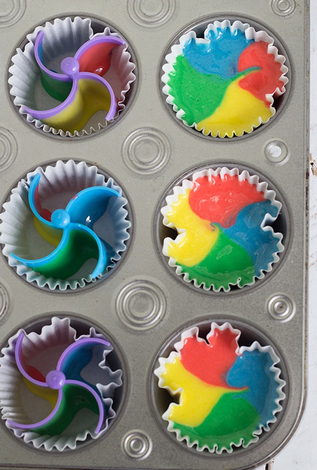 How To Make Multi-colored Cupcakes