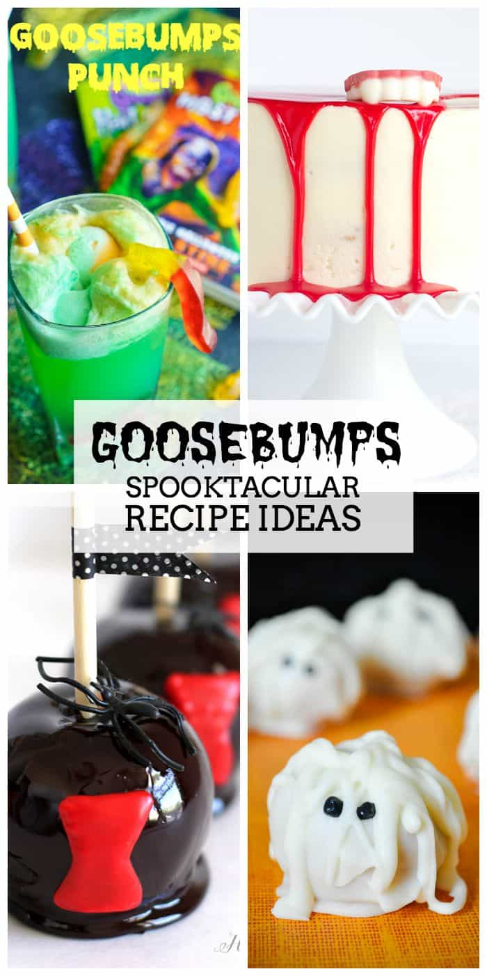 Goosebumps Spooktacular Recipe Ideas