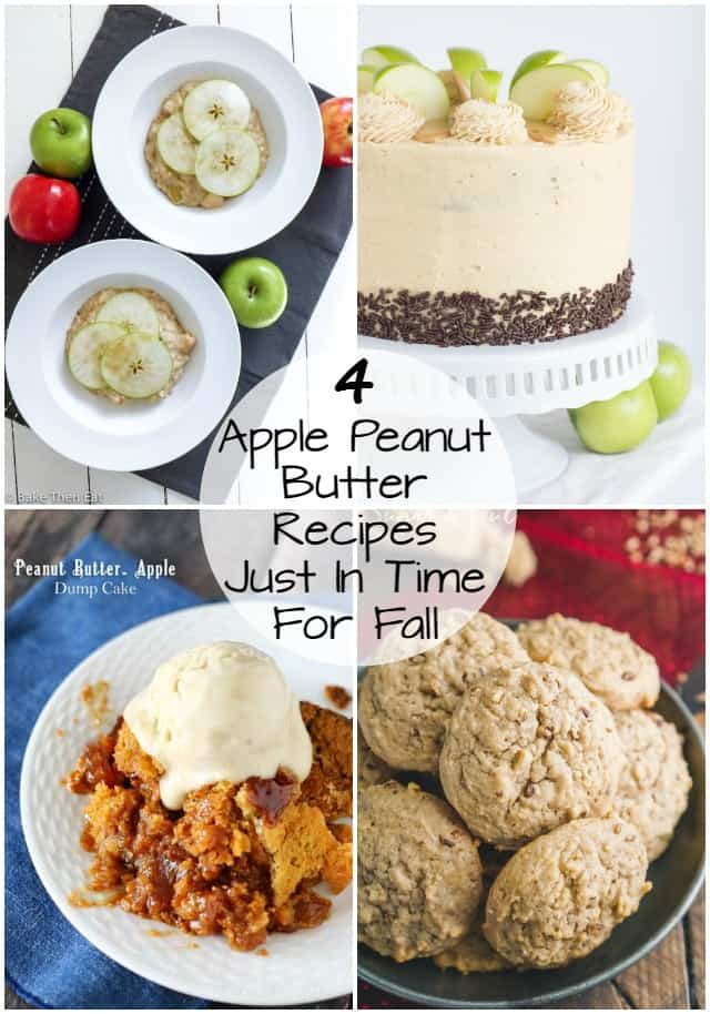 4 Apple Peanut Butter Recipes just in time for Fall